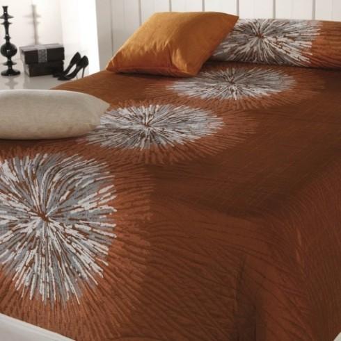 Cuvertura-de-pat-deluxe-Agnes-Orange---RMC07