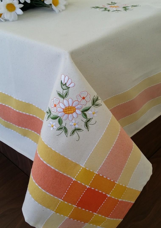 Fata De Masa Valentini Bianco Wky15 Yellow