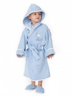 Halat-de-baie-copii-4-6-ani-Giraf-Bleo
