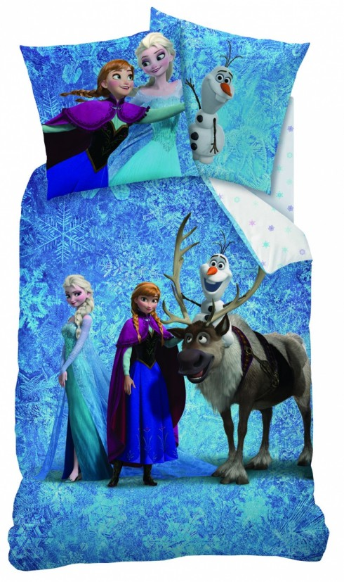 Lenjerie-de-pat-Disney-Frozen-Team