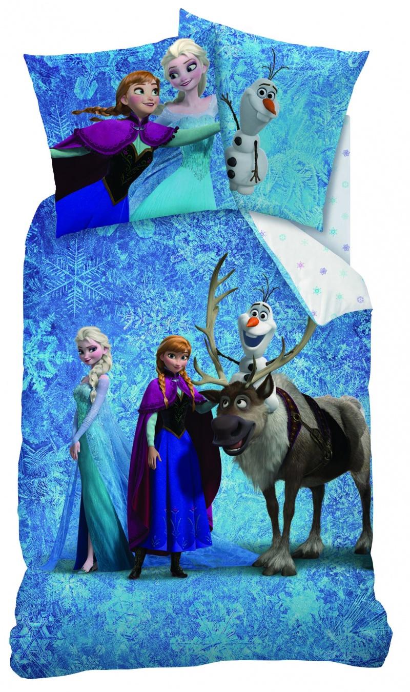 Lenjerie De Pat Disney Frozen Team