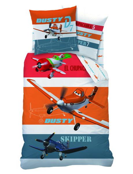 Lenjerie-de-pat-Disney-Planes-Skipper