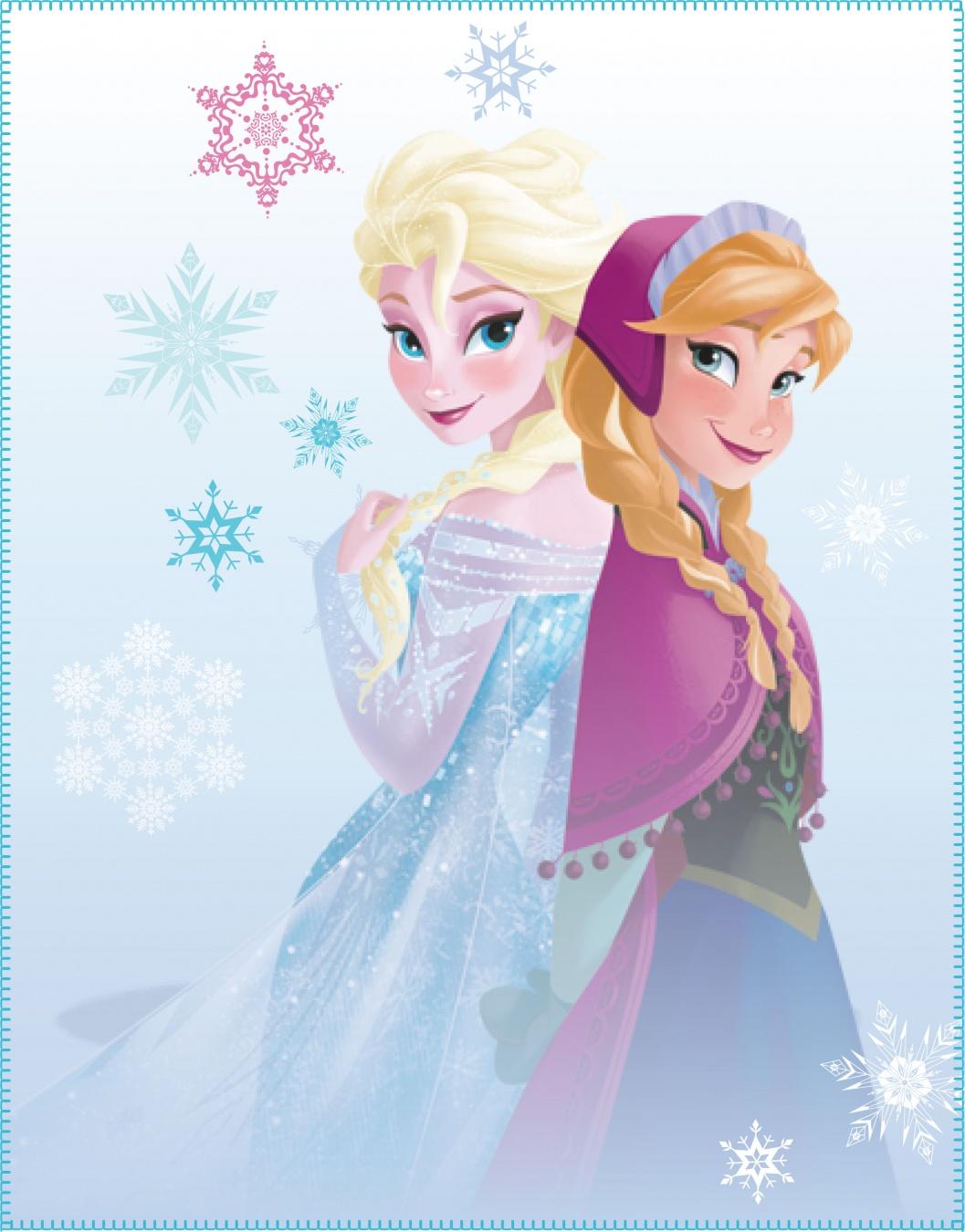 Paturica Copii Disney Frozen Winter