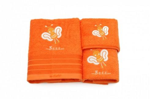 Set-de-3-prosoape-pentru-copii-portocaliu1