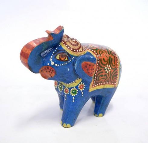 Statueta-Elefant-Mare-Blue
