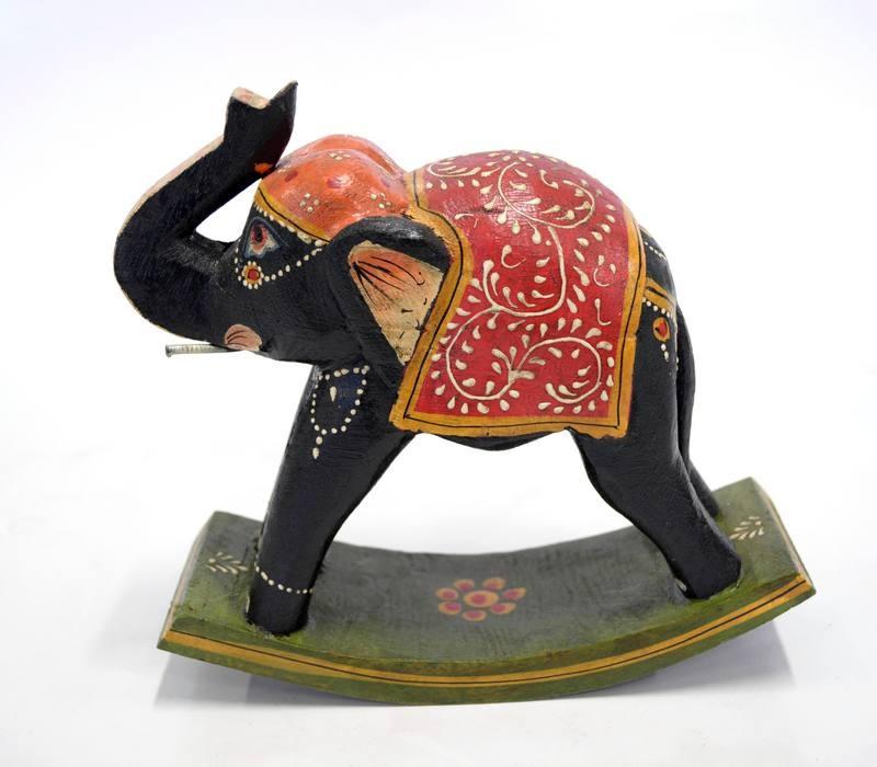 Statueta Elefant Mare Exotique