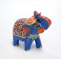 Statueta-Elefant-Mic-Blue