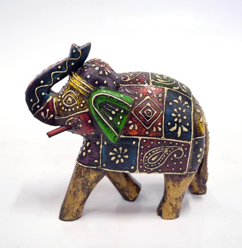 Statueta Elefant 17x8x16 Cm Exotique