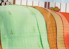 Cuvertura de pat dublu Verde