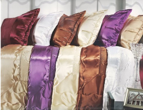 Cuvertura de pat dublu din Satin
