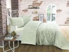TH-STYLE Verde Cuvertura de pat Valentini Bianco