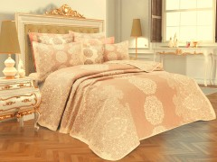 TH-Onella Bej  Bun Cuvertura de pat Valentini Bianco