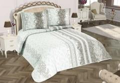 TH-Versa Beige Cuvertura de pat Valentini Bianco