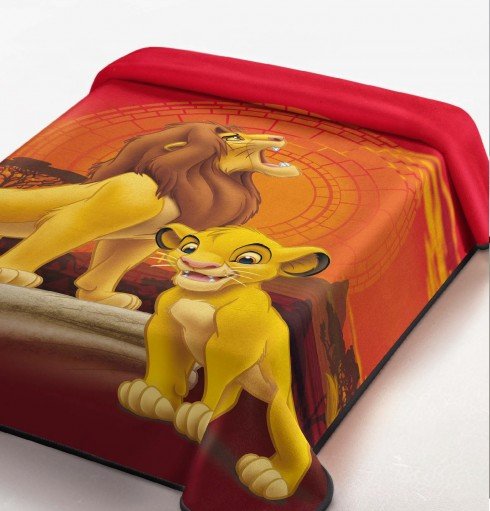 Patura de pat Disney- Lion king