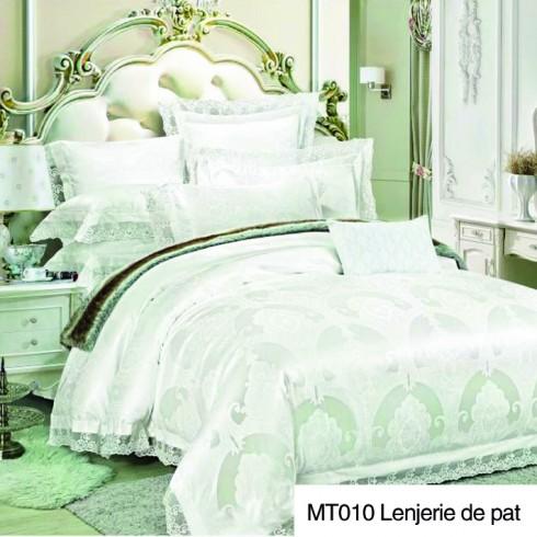 MT010-17 Lenjerie de pat din matase